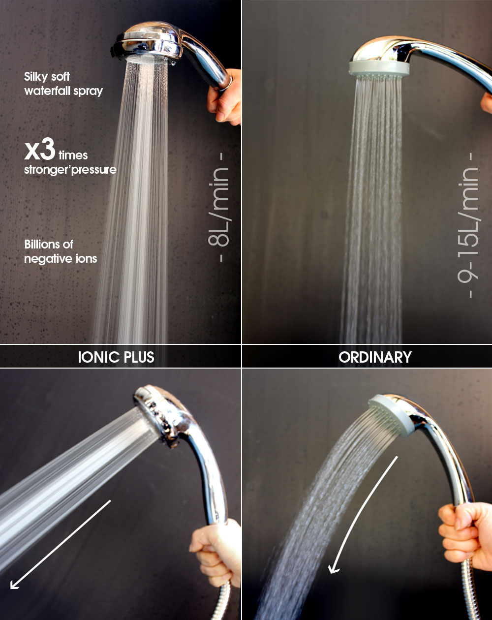 Ionic Plus | Ionic Shower